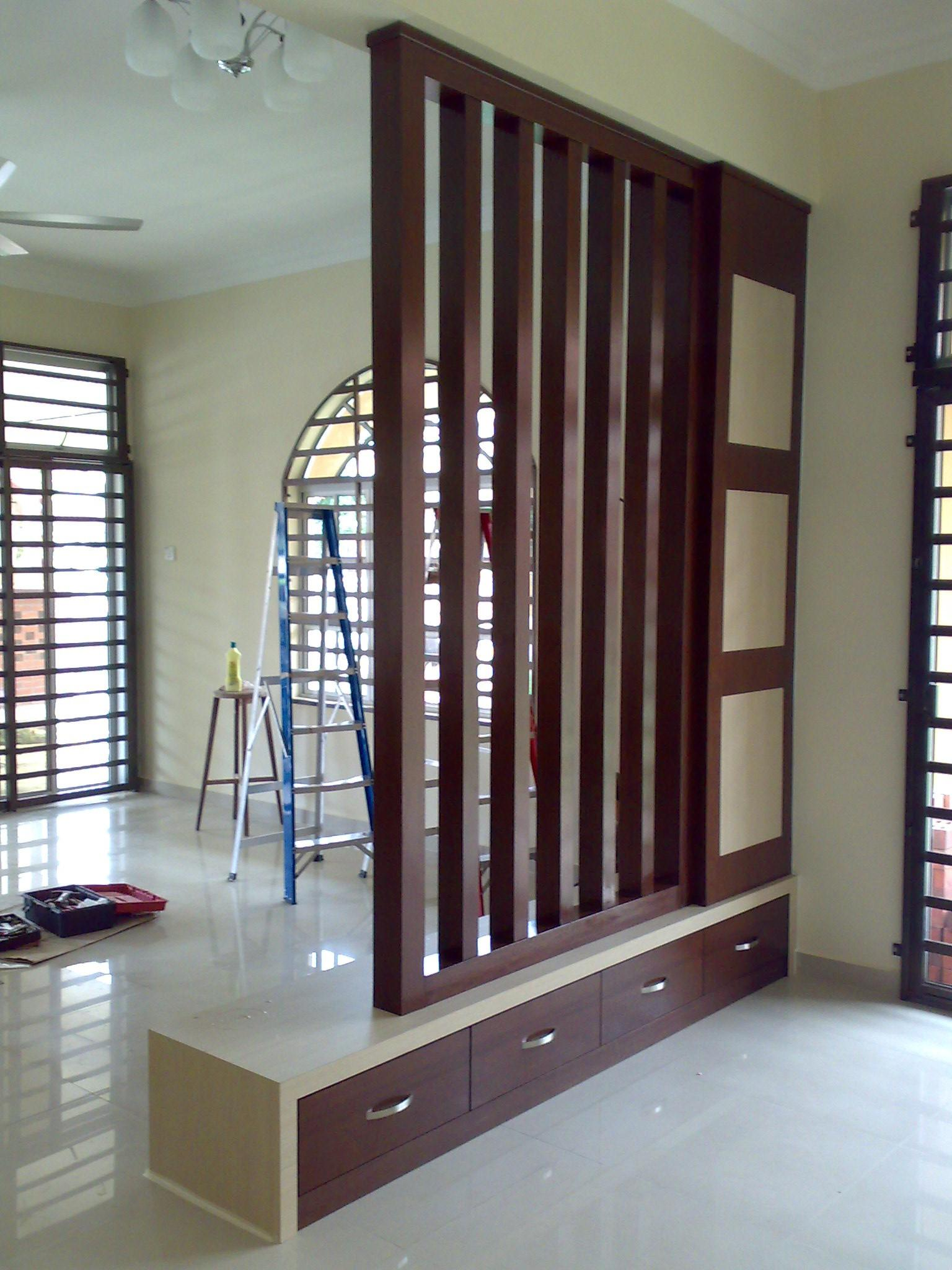 Renovation Penang Butterworth House Office Divider
