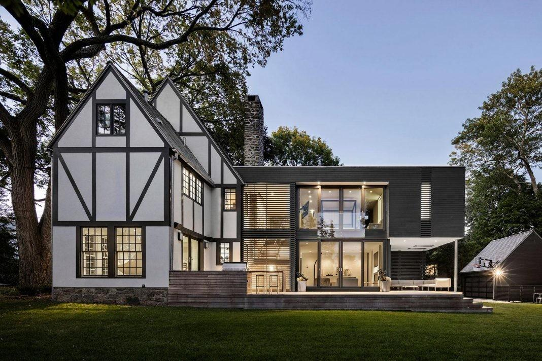 Renovation Tudor Style Residence Preserving