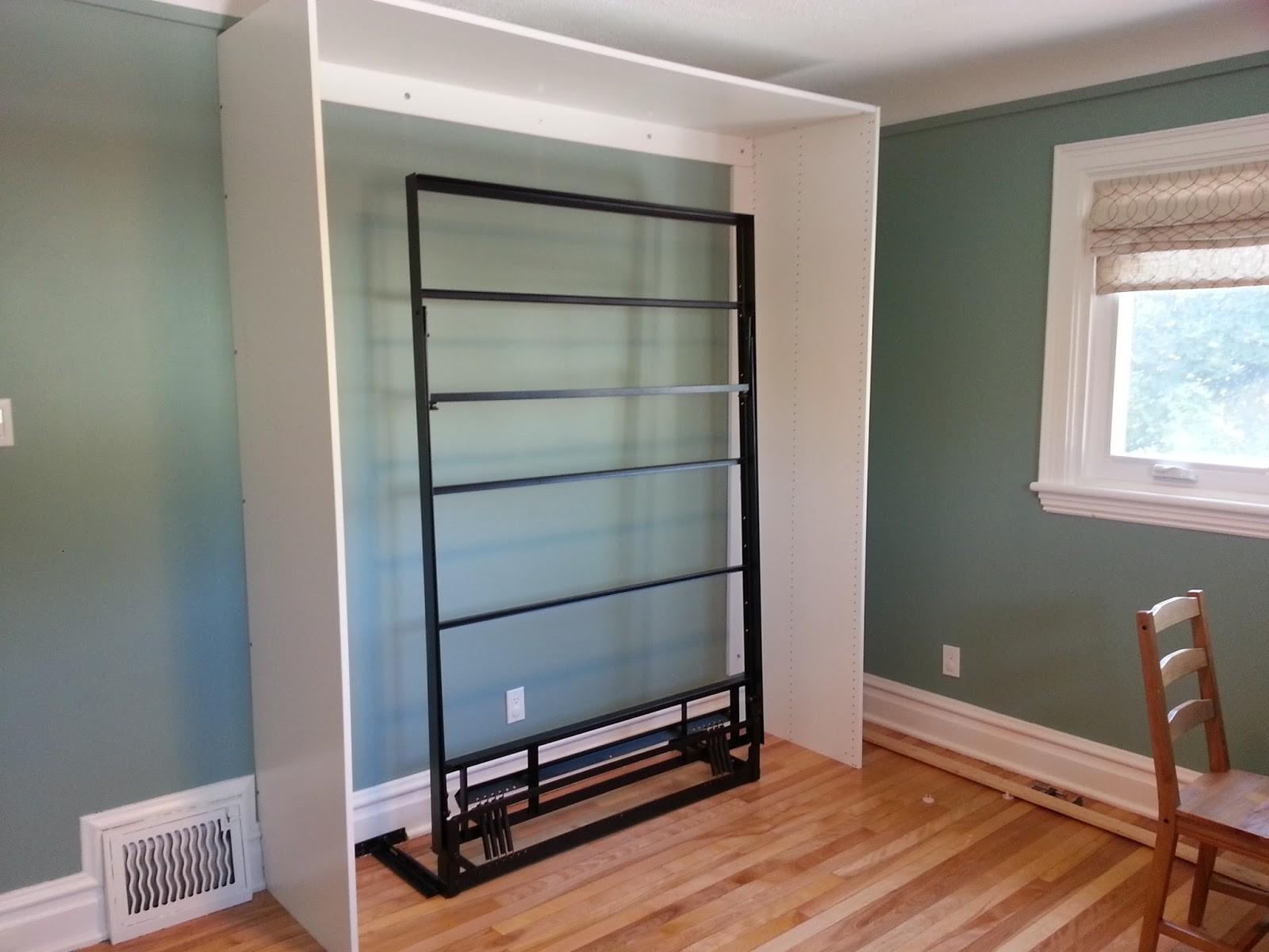 Renovations Old Houses Diy Murphy Bed