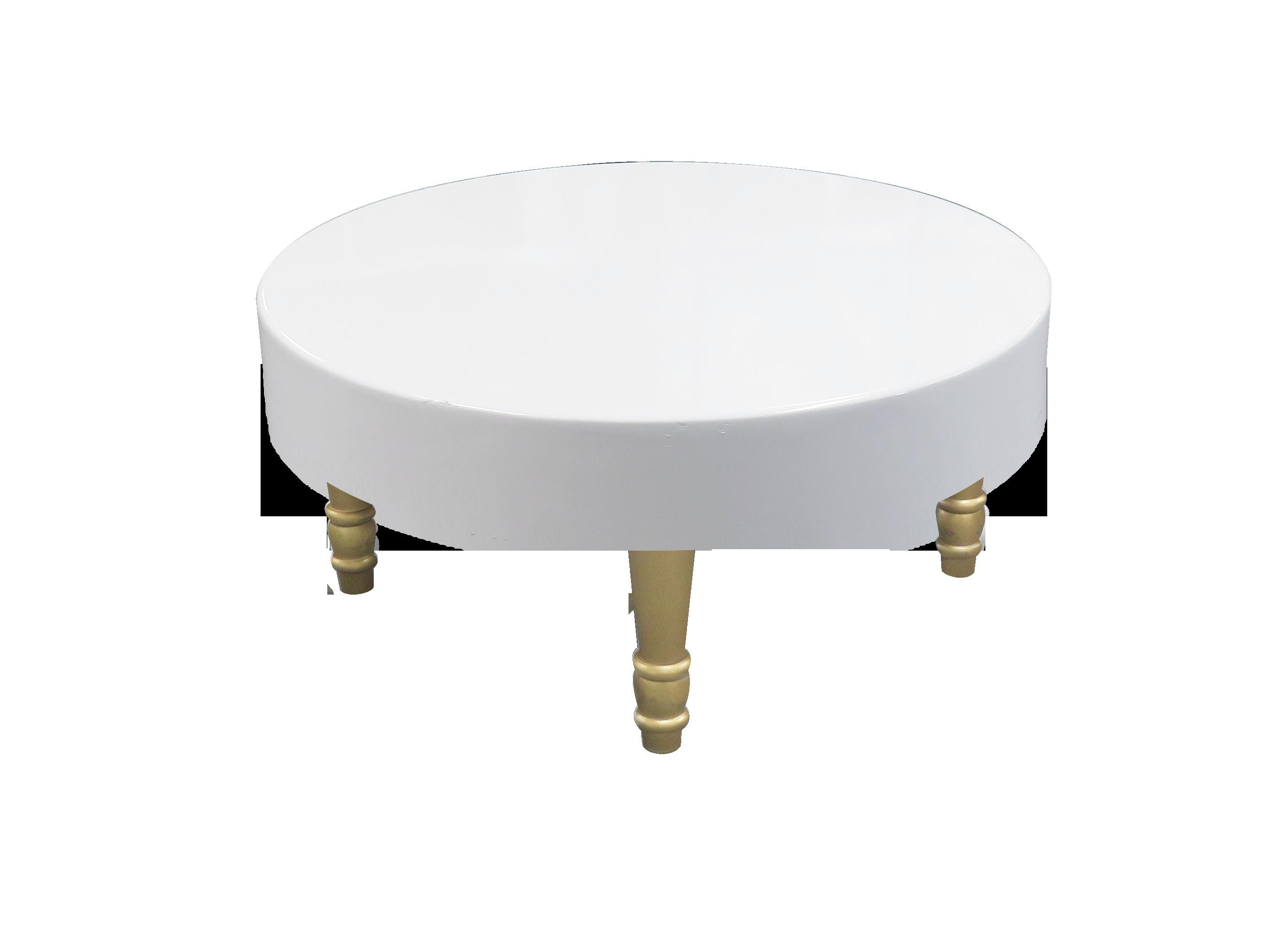 Rent Buy Avalon Round Gold Coffee Table Event Rental