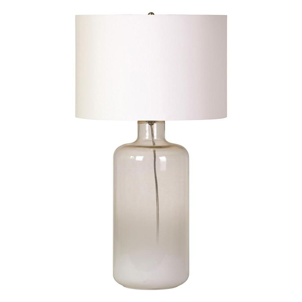Renwil Snowfall White Ombre Table Lamp Lpt586