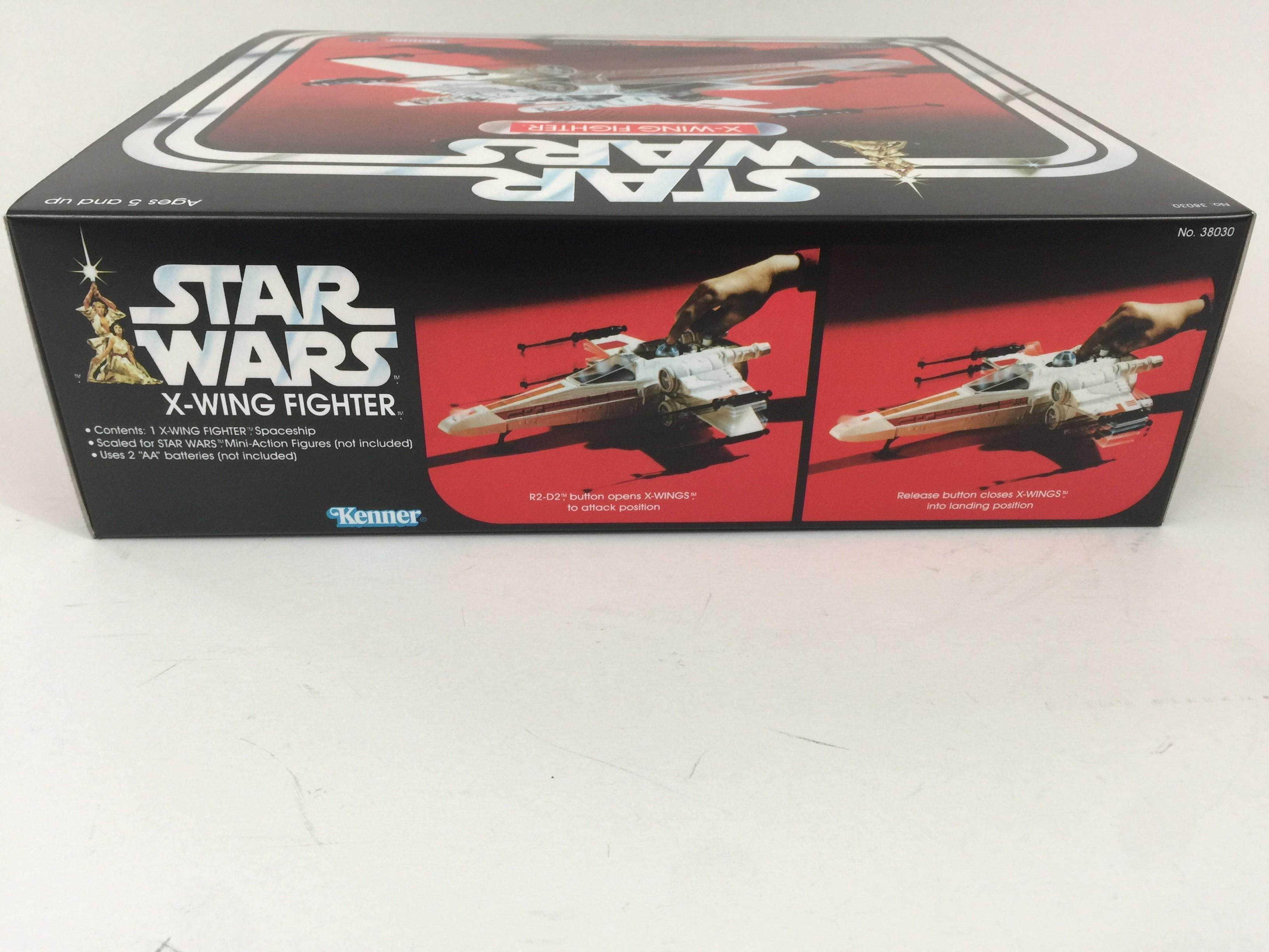 Replacement Vintage Star Wars 2nd Edition Wing Box