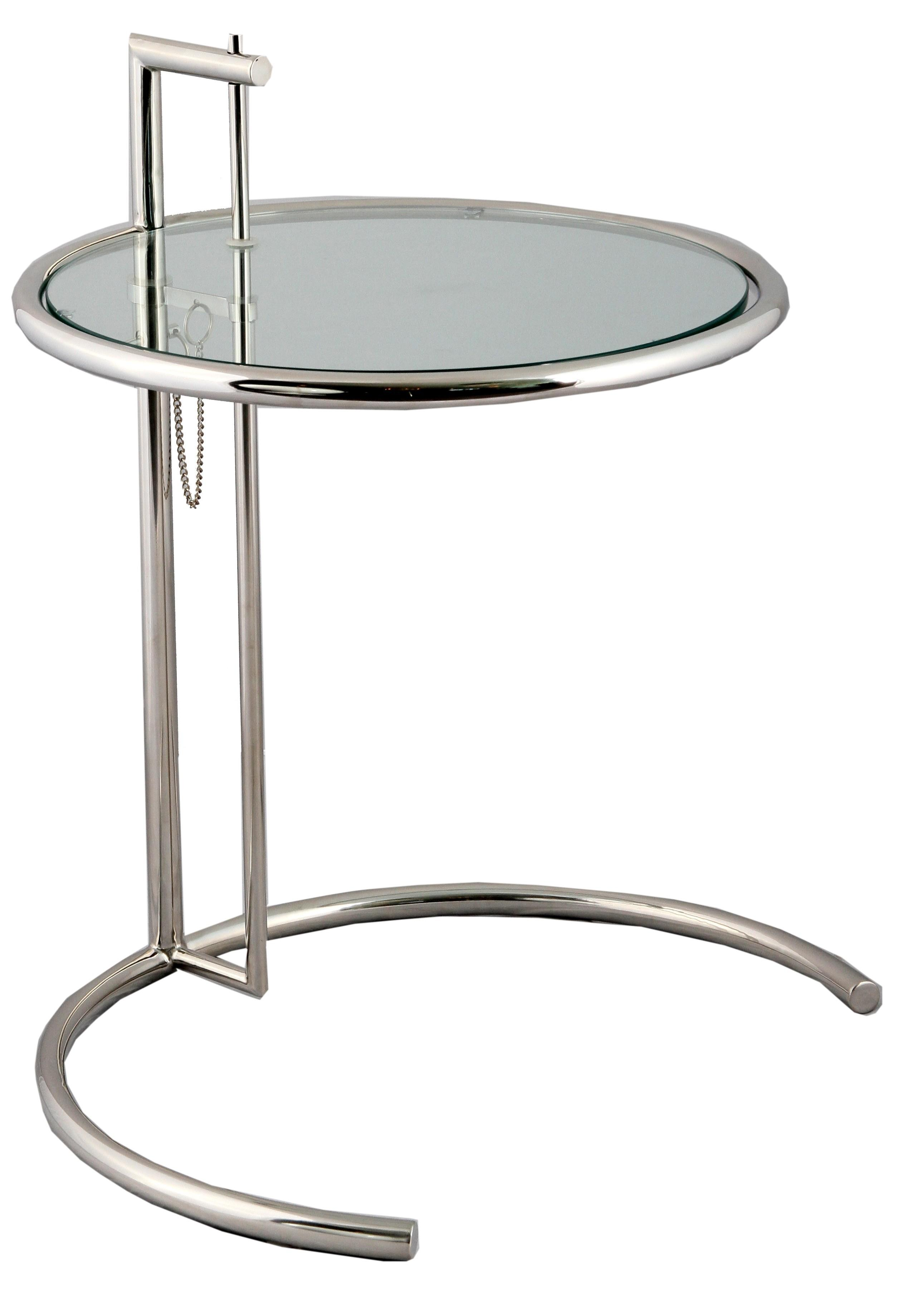 Replica Eileen Gray Adjustable Side Table