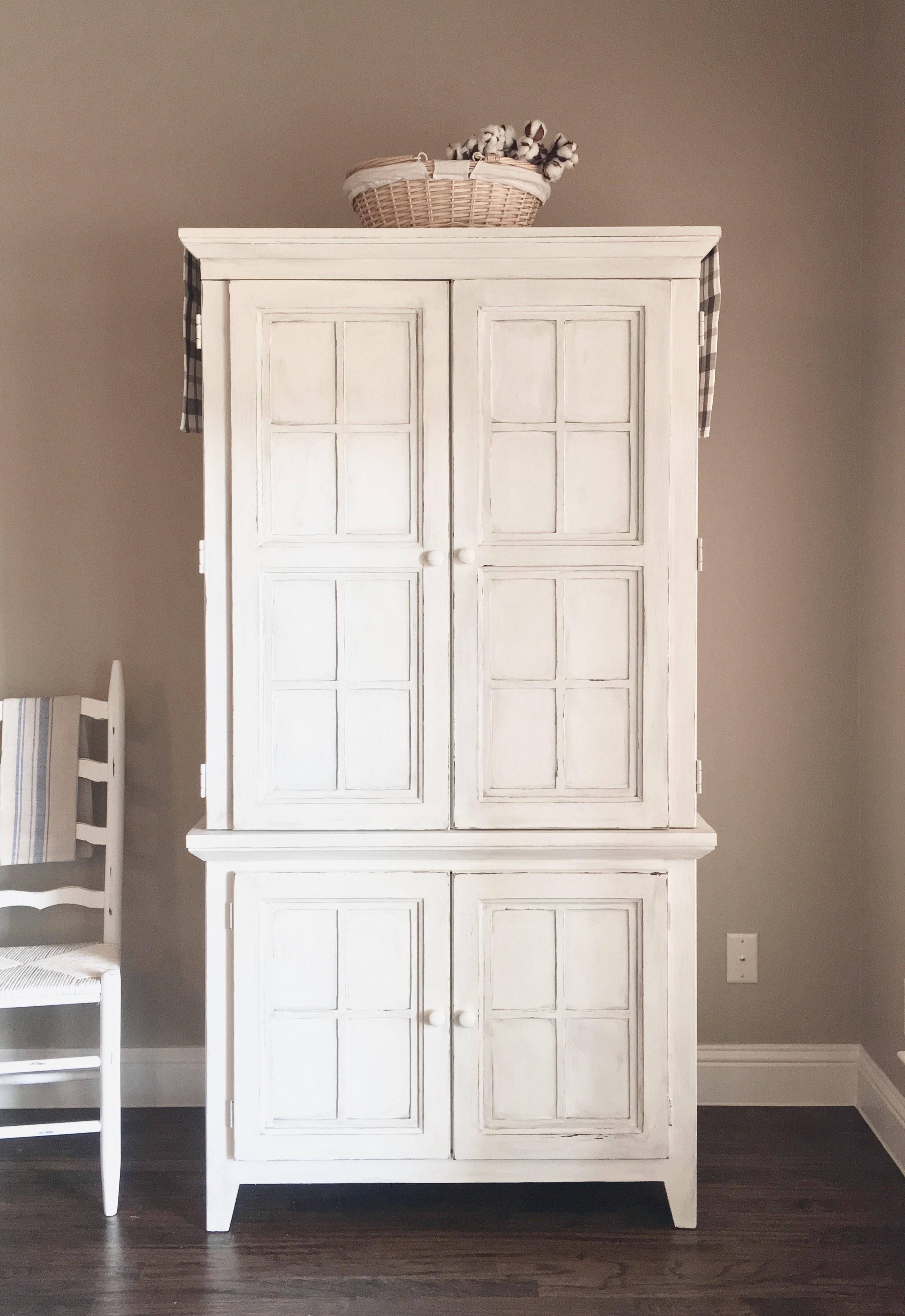 Repurpose Old Armoire Humble Chair