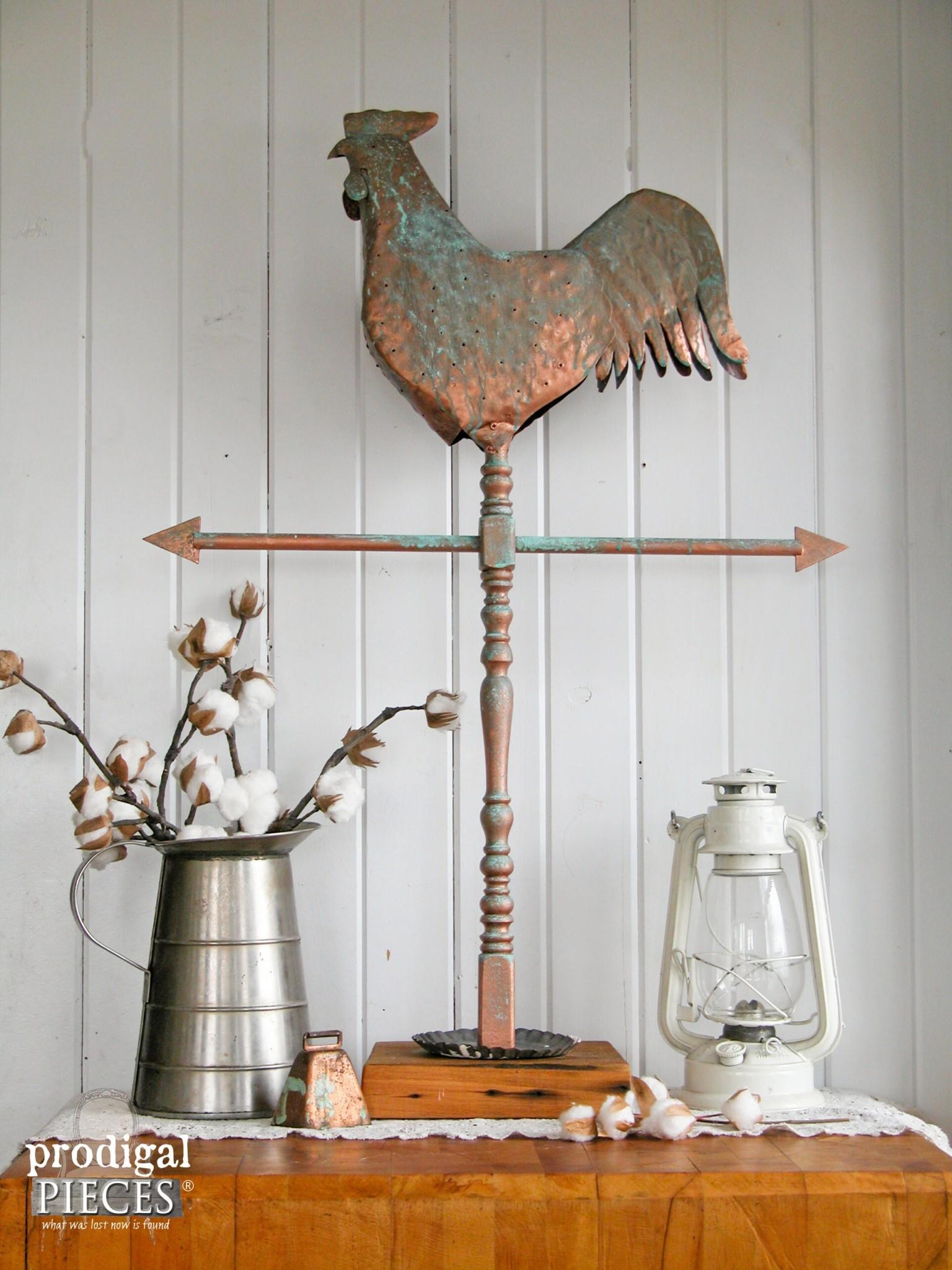 Repurposed Farmhouse Metal Art Prodigal Pieces