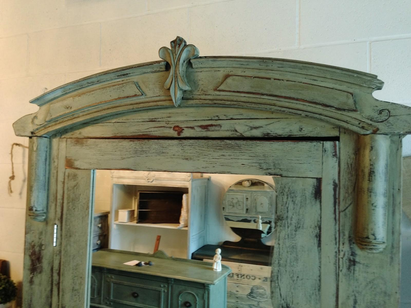 Repurposed Gems Awesomist Antique Armoire