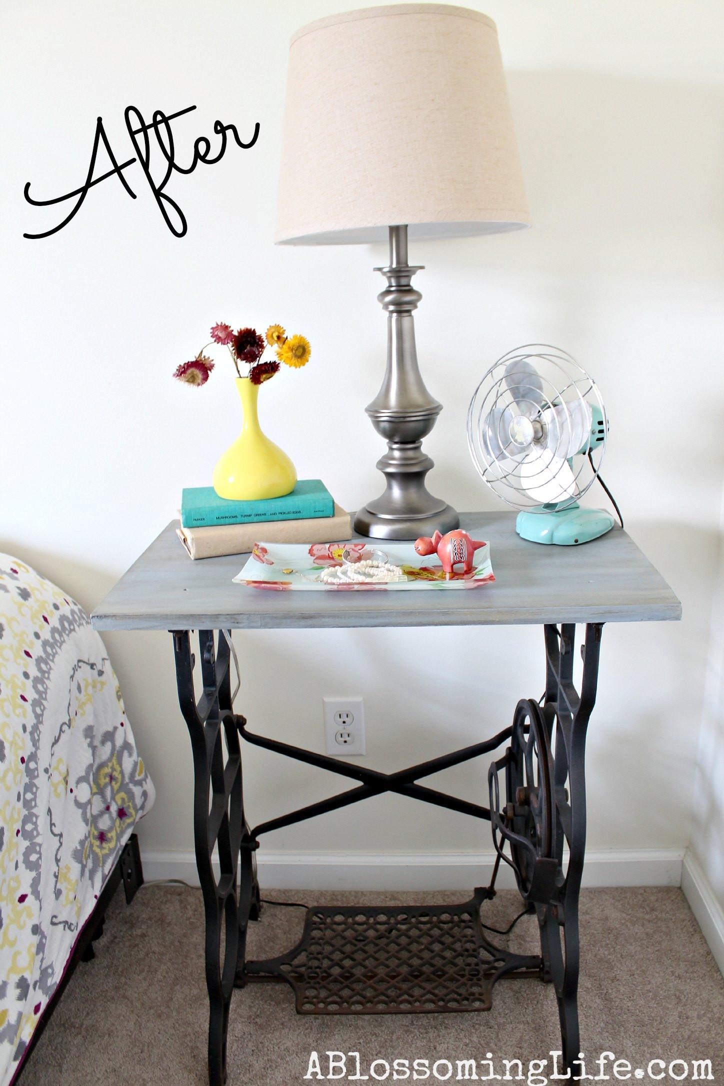 Repurposed Sewing Table Ideas Makeovers