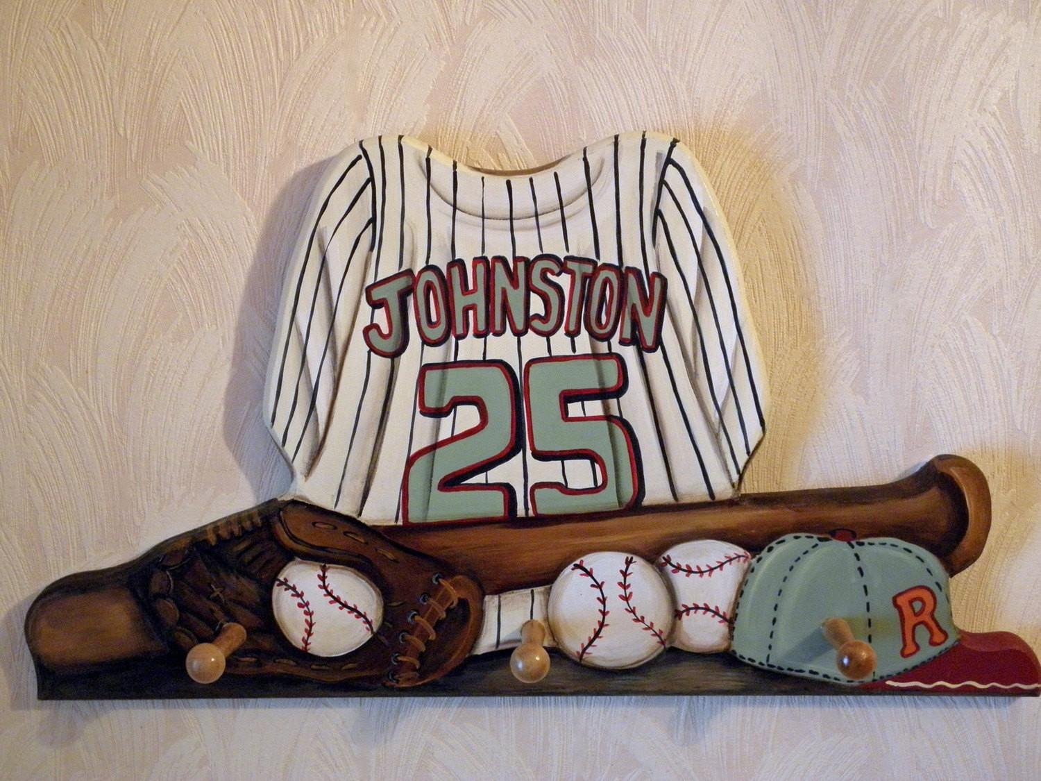 Reserved Listing Baseball Jersey Custom Wall Hanging