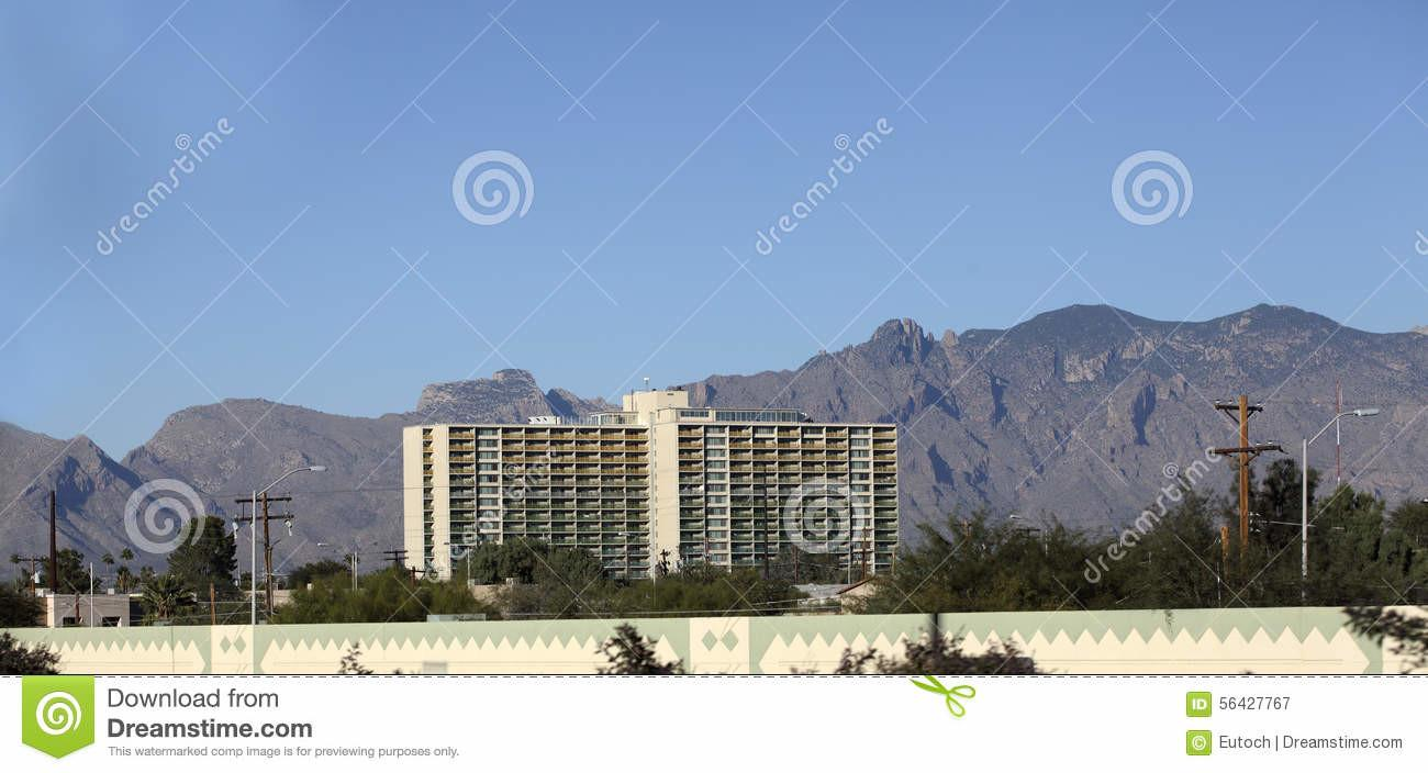 Residential Highrise Tucson Editorial Photography