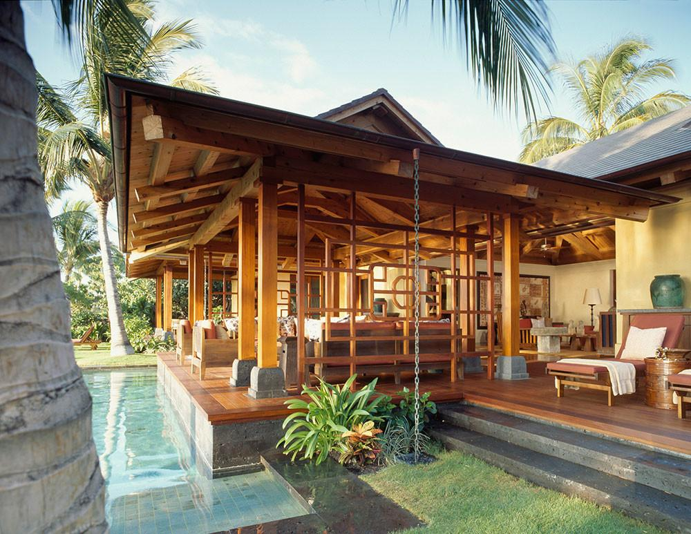 Residential Timber Home Hawaiian Paradise