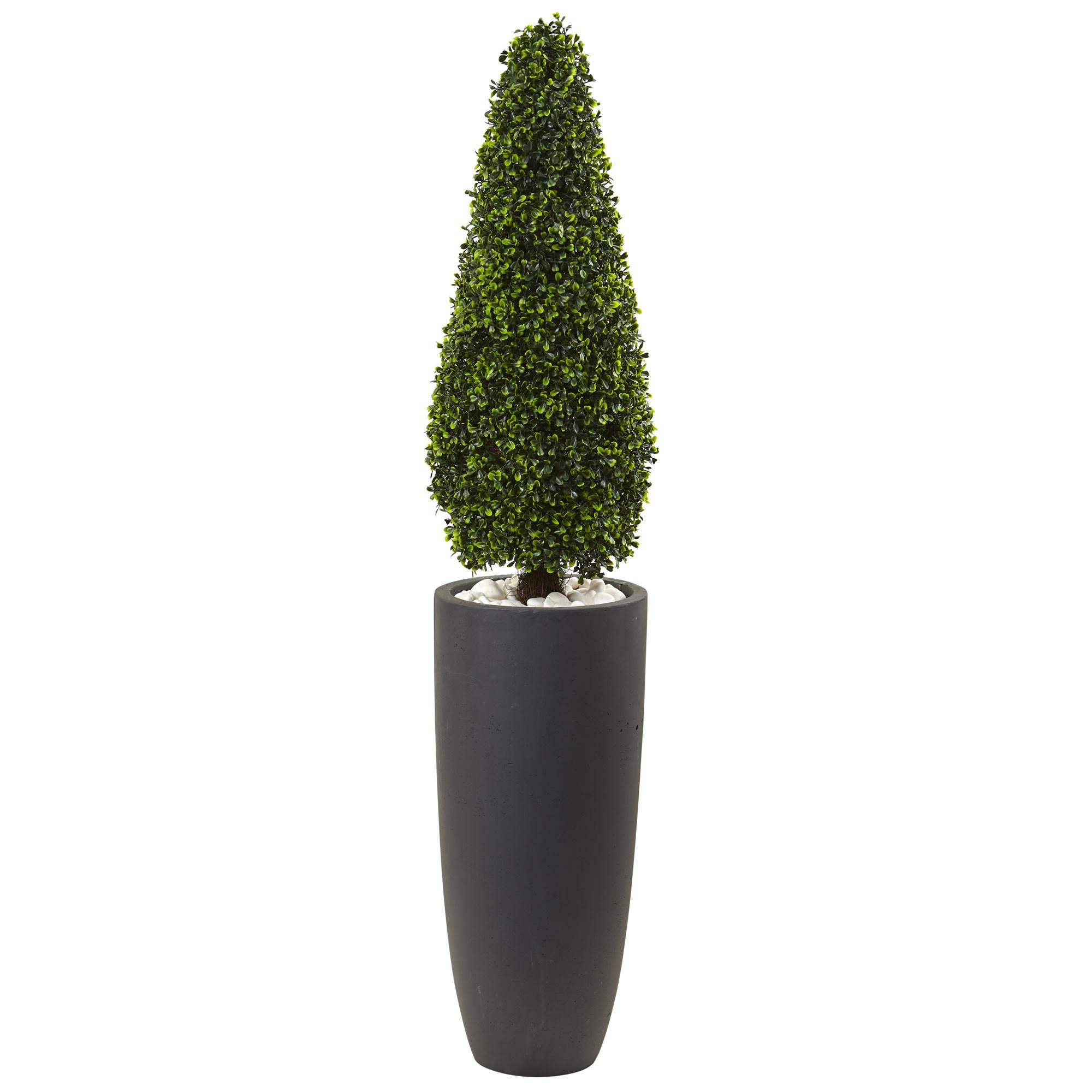 Resistant Outdoor Artificial Boxwood Cone Shaped