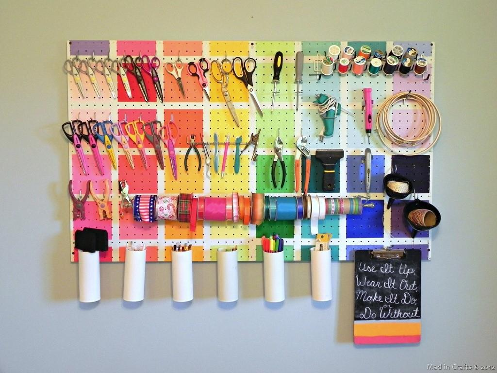 Resourceful Ways Decorate Pegboards Other