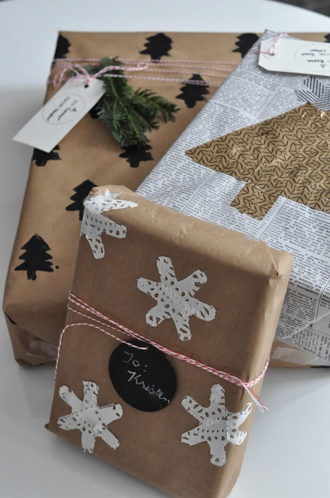 Restlessoasis Simple Diy Gift Wrapping Ideas
