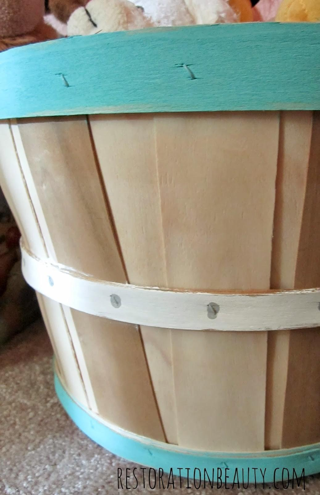 Restoration Beauty Basket Painting Quick Easy