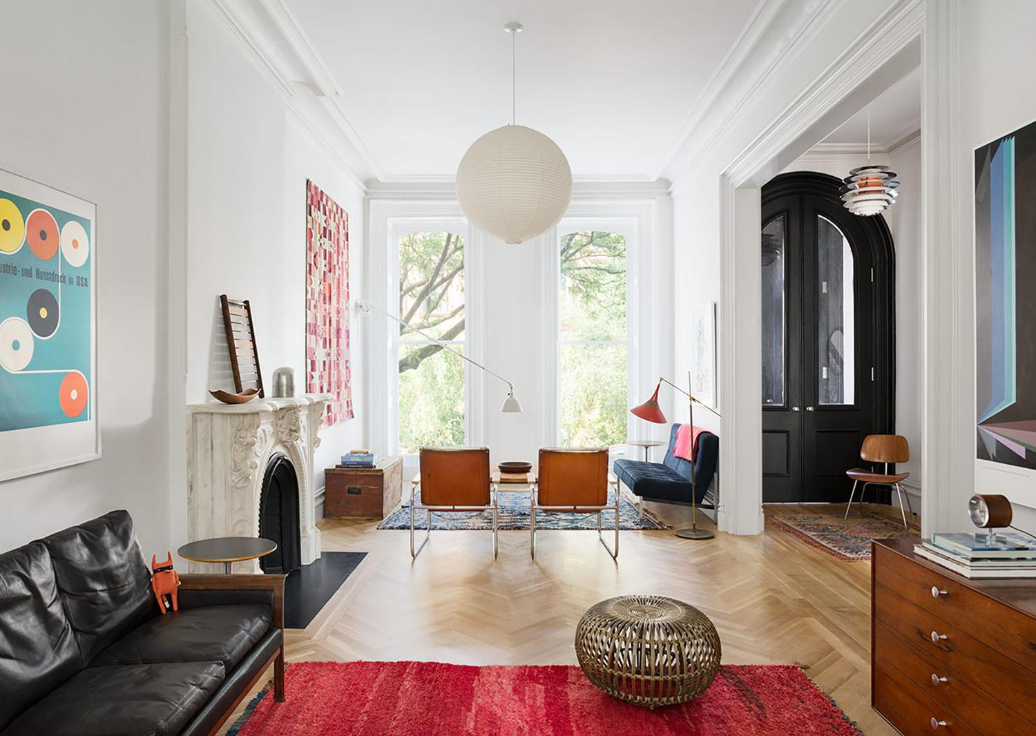 Restored Brooklyn Brownstone House Fresh Contemporary