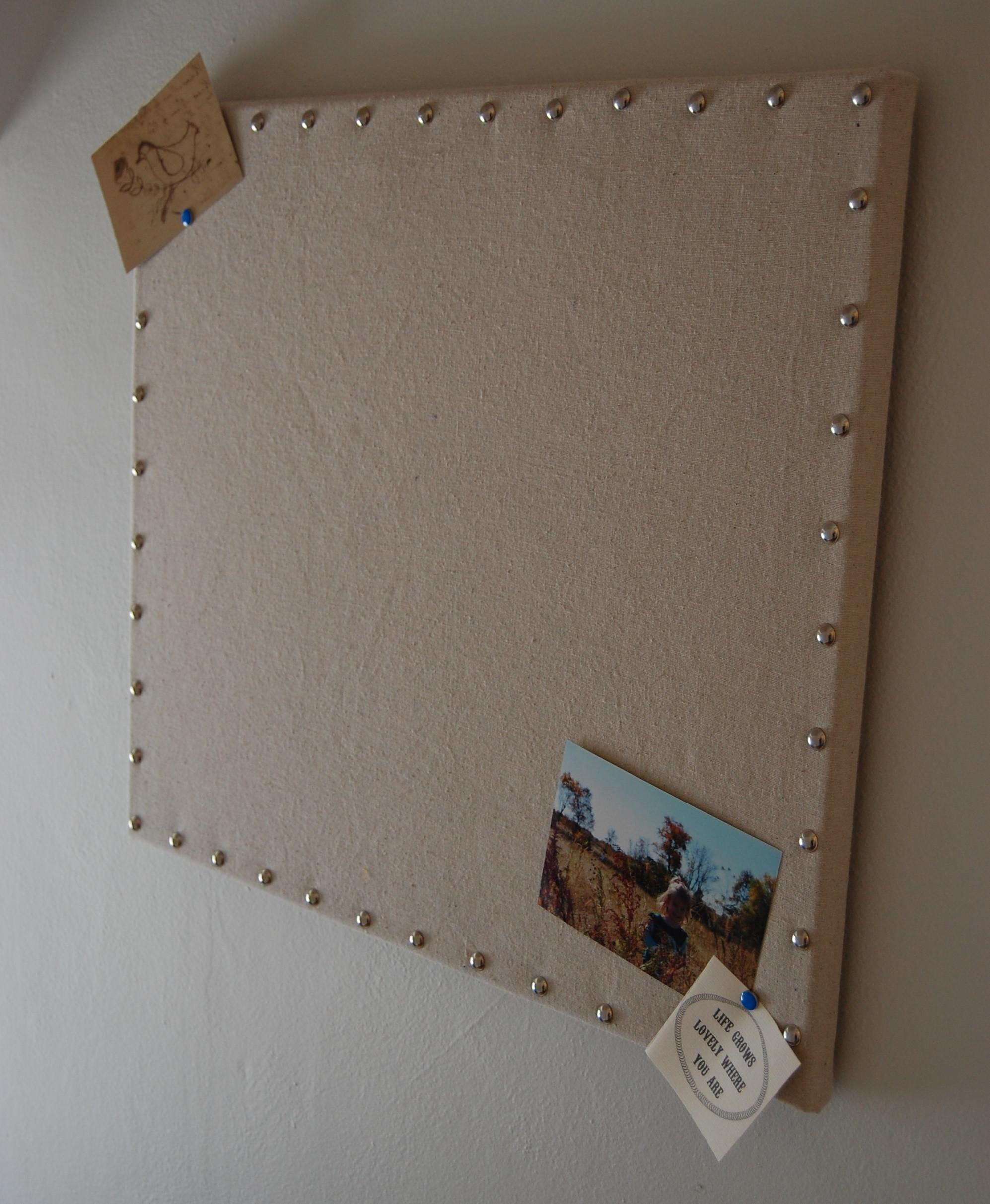 Retail Replicate Burlap Message Board