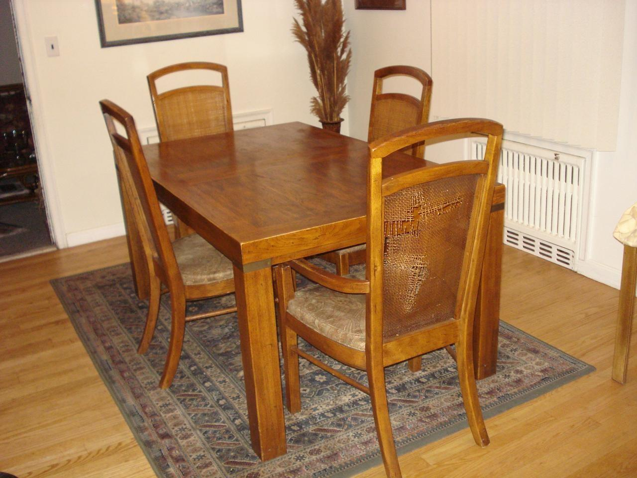 Retro Dining Set Fab Recovering Dinette