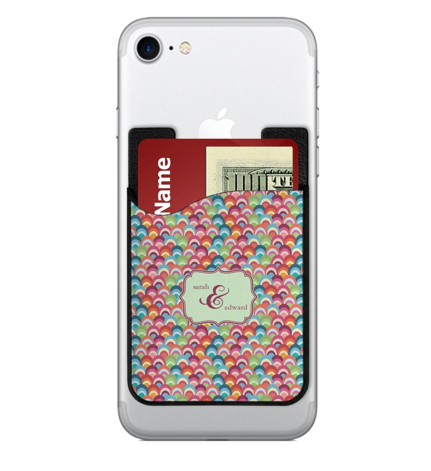 Retro Fishscales Cell Phone Credit Card Holder