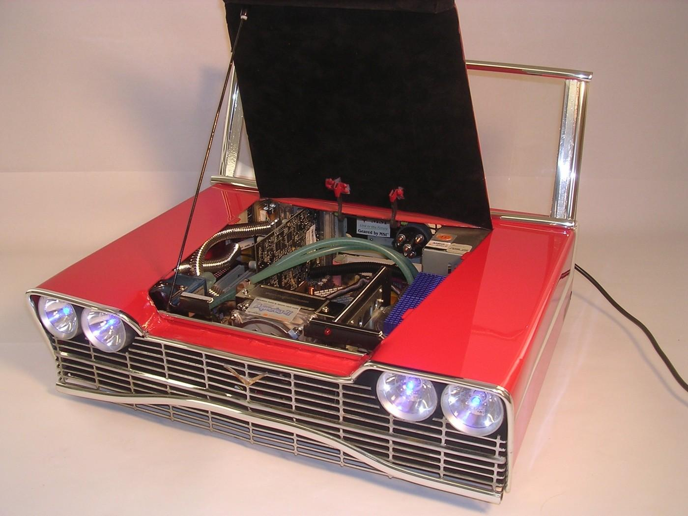 Retro Hotrod Case Inspired Christine Car