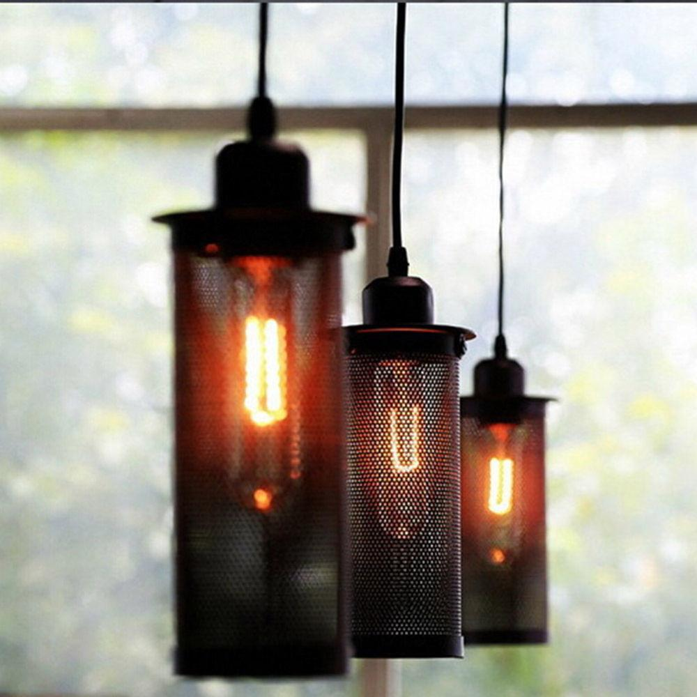 Retro Industrial Diy Ceiling Lamp Edison Light Chandelier