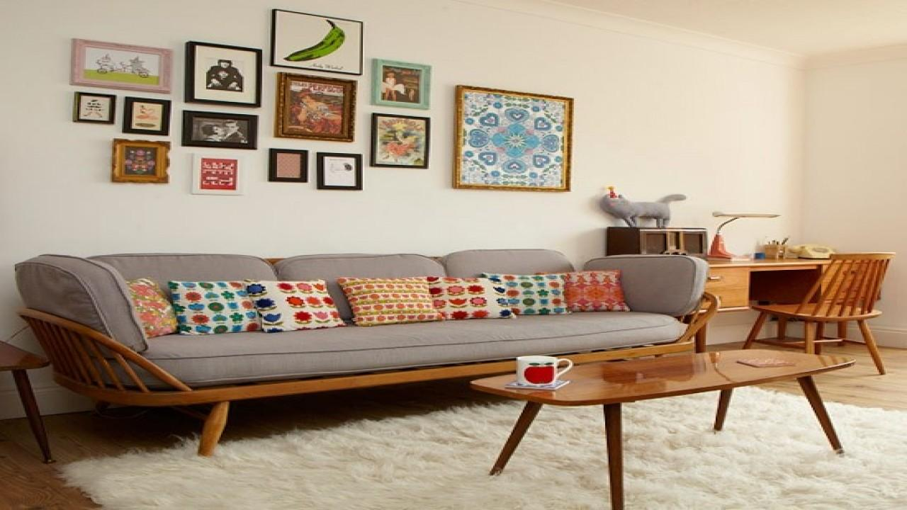 Retro Living Room Design Decorating Ideas