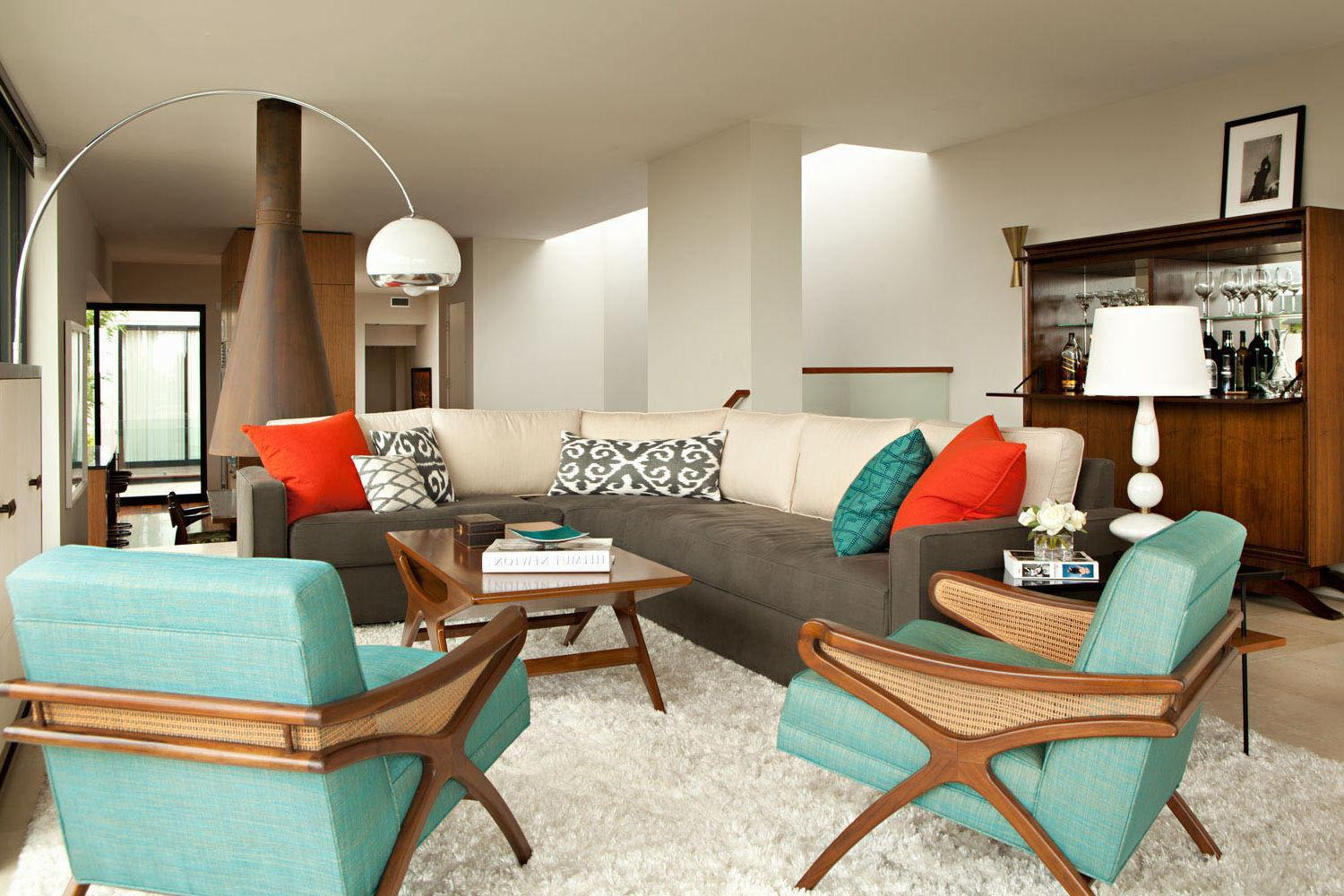 Retro Living Room Ideas House Design Planning
