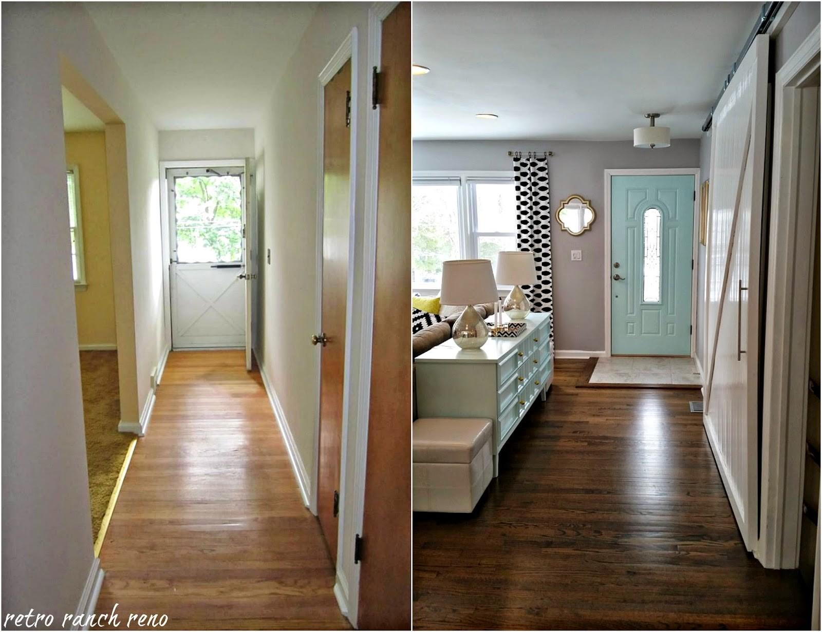 Retro Ranch Reno Our Rancher Before After Entrance