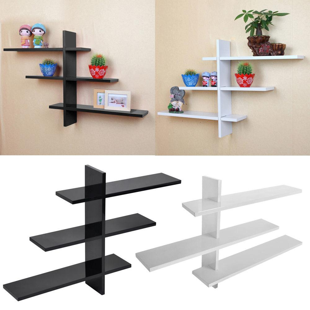 Retro Shelf Storage Wall Mounted Display Shelves