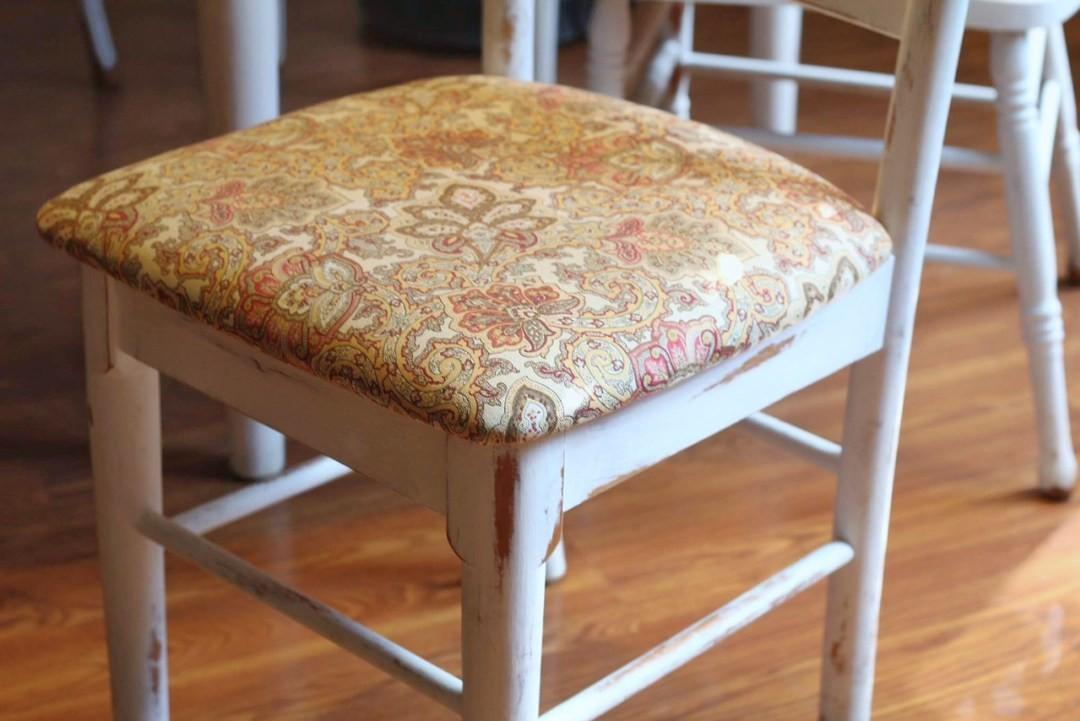 Reupholster Dining Chairs Minutes Two Paws