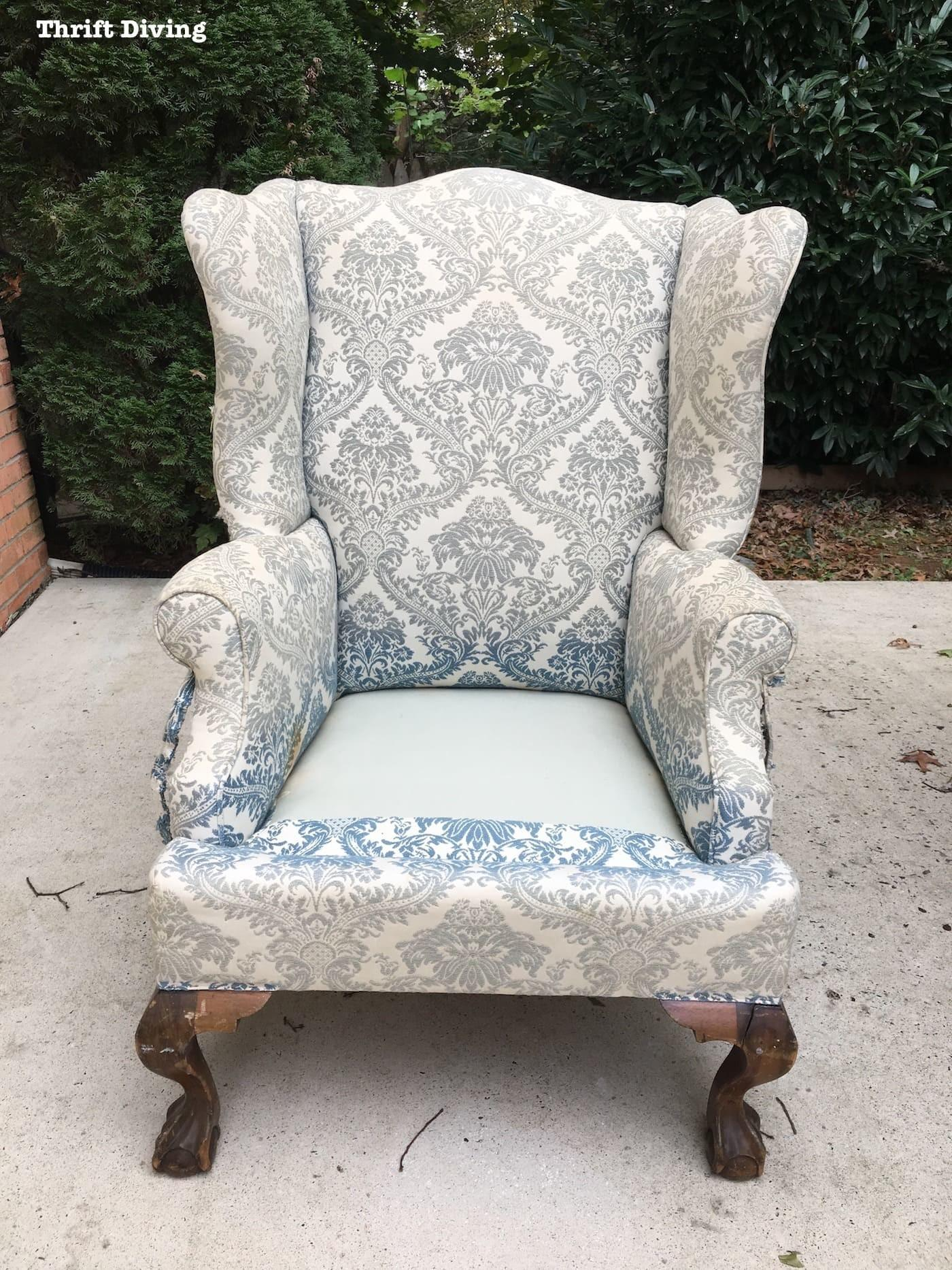 Reupholster Wingback Chair Chairs Seating