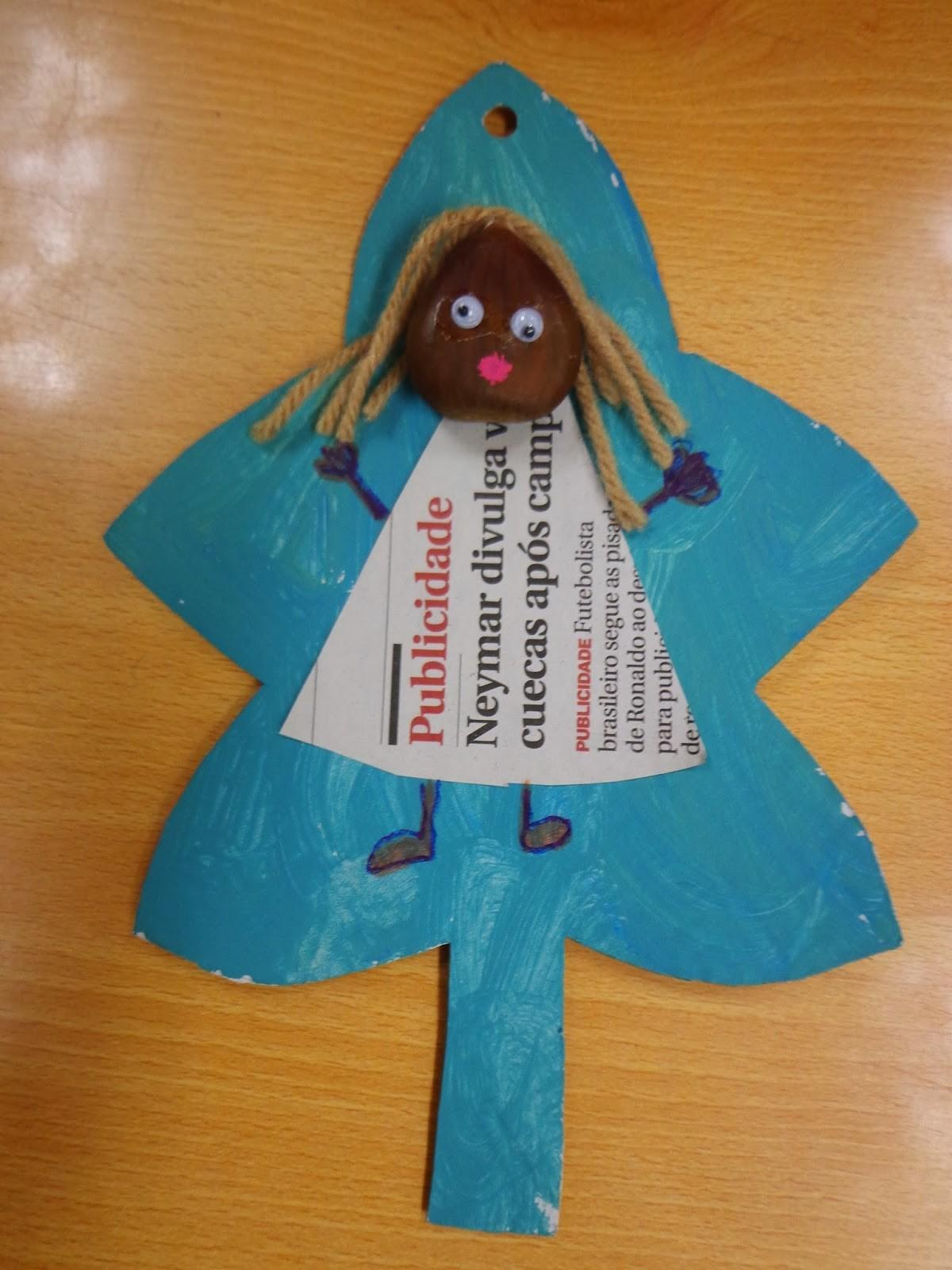 Reuse Crafts Chestnut Doll Craft