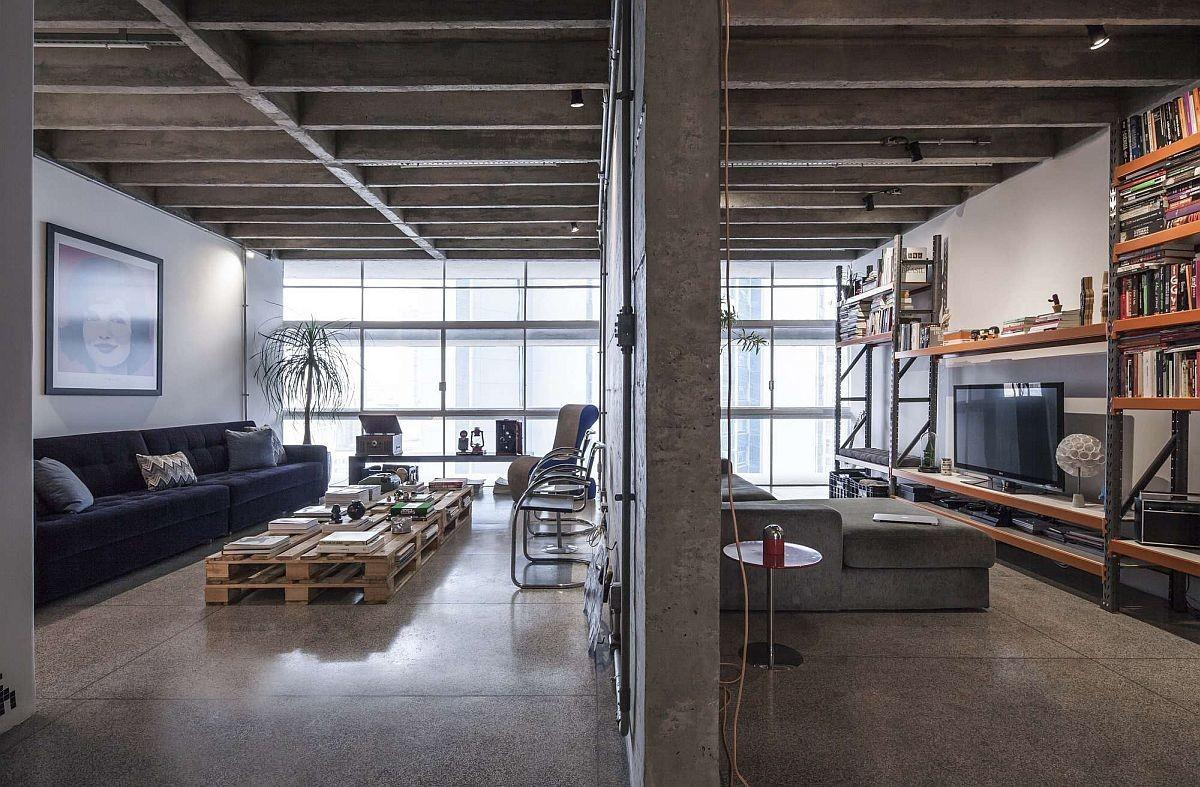 Revamped Modern Industrial Apartment Iconic
