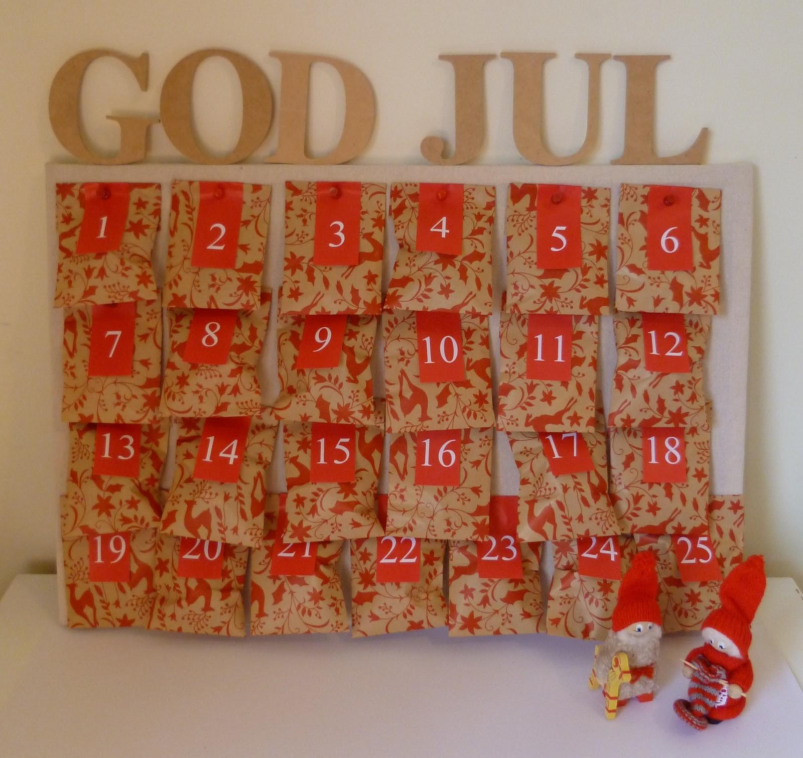 Revision Design Diy Christmas Advent Calendar
