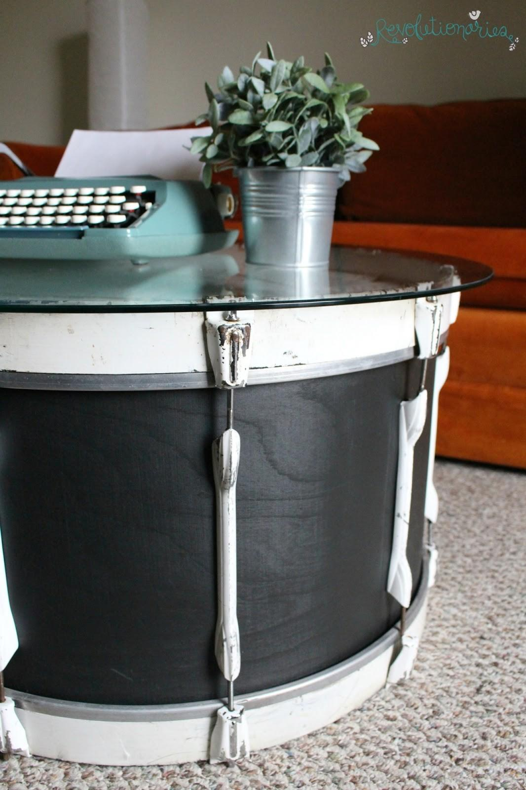 Revolutionaries Repurposed Furniture Turn Bass Drum