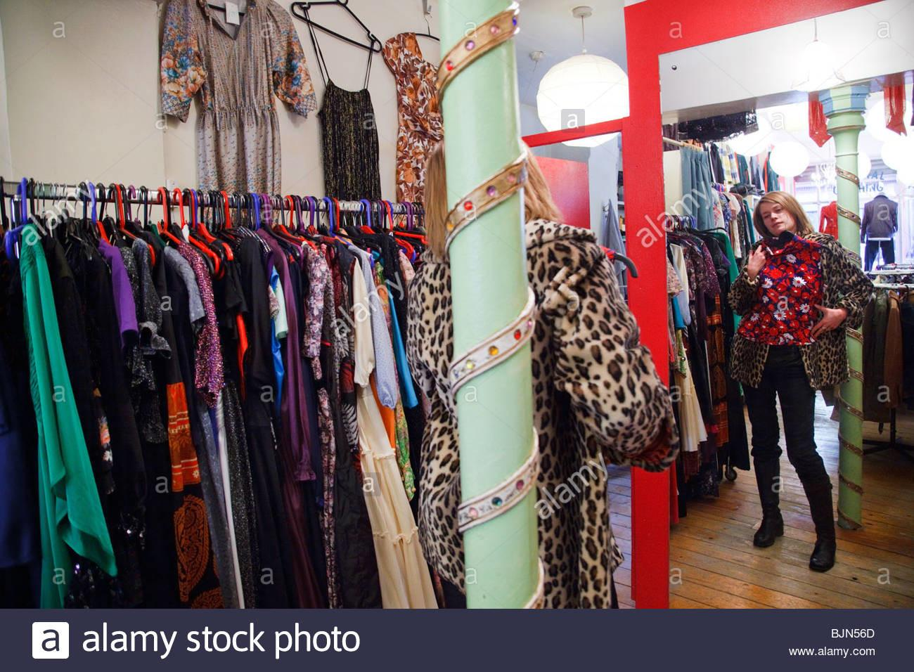 Ribbons Taylor Vintage Clothing Store Stoke