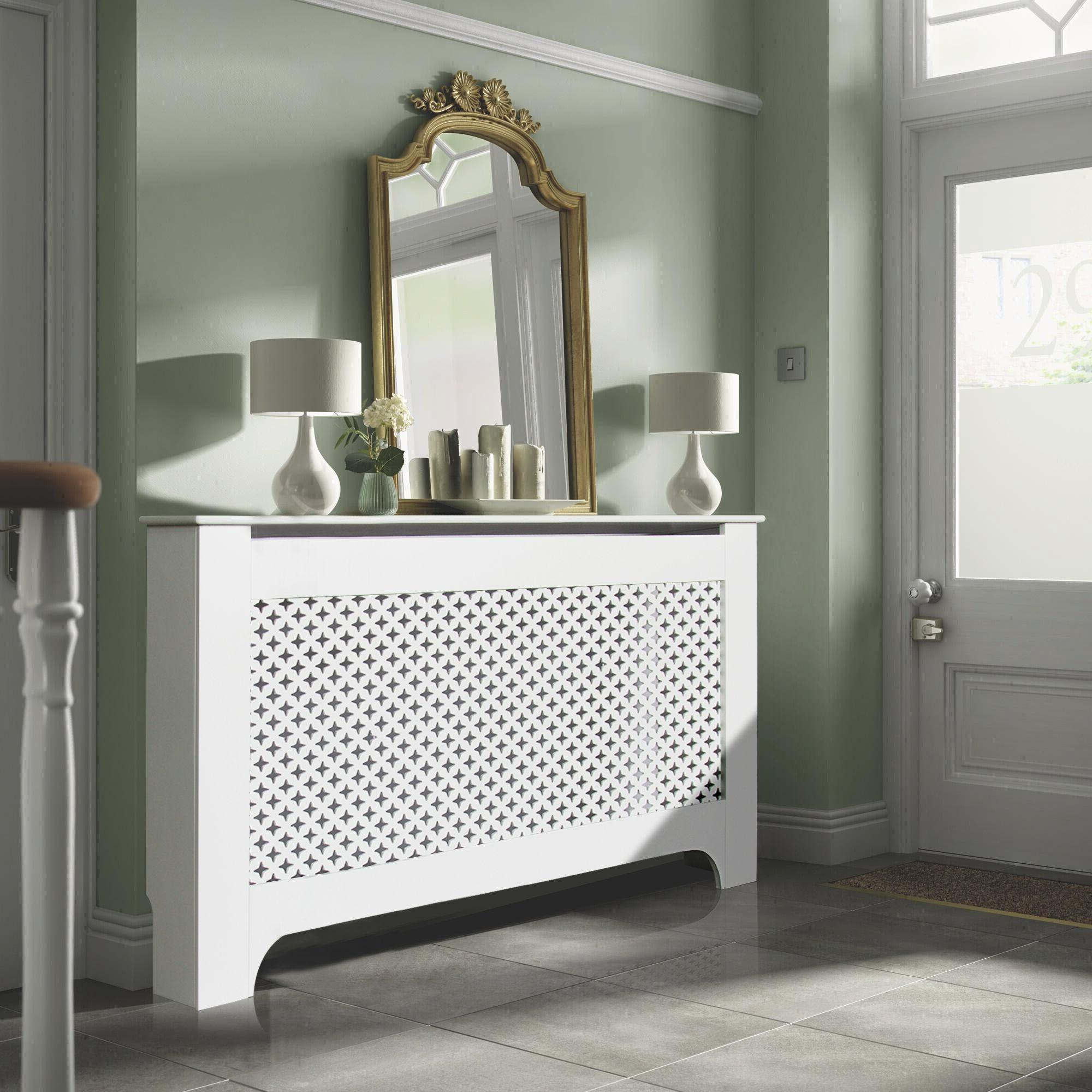 Richmond Large White Painted Radiator Cover Departments