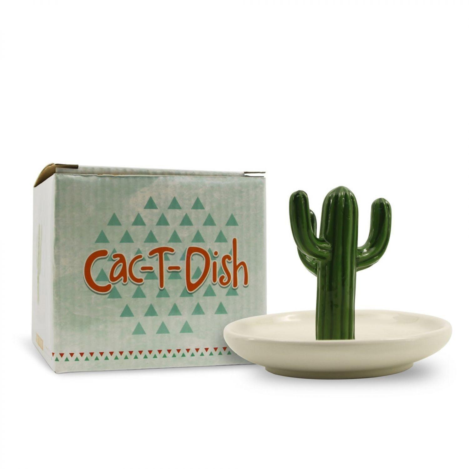 Ring Holder Ceramic Cactus Jewelry Dish Art Similar