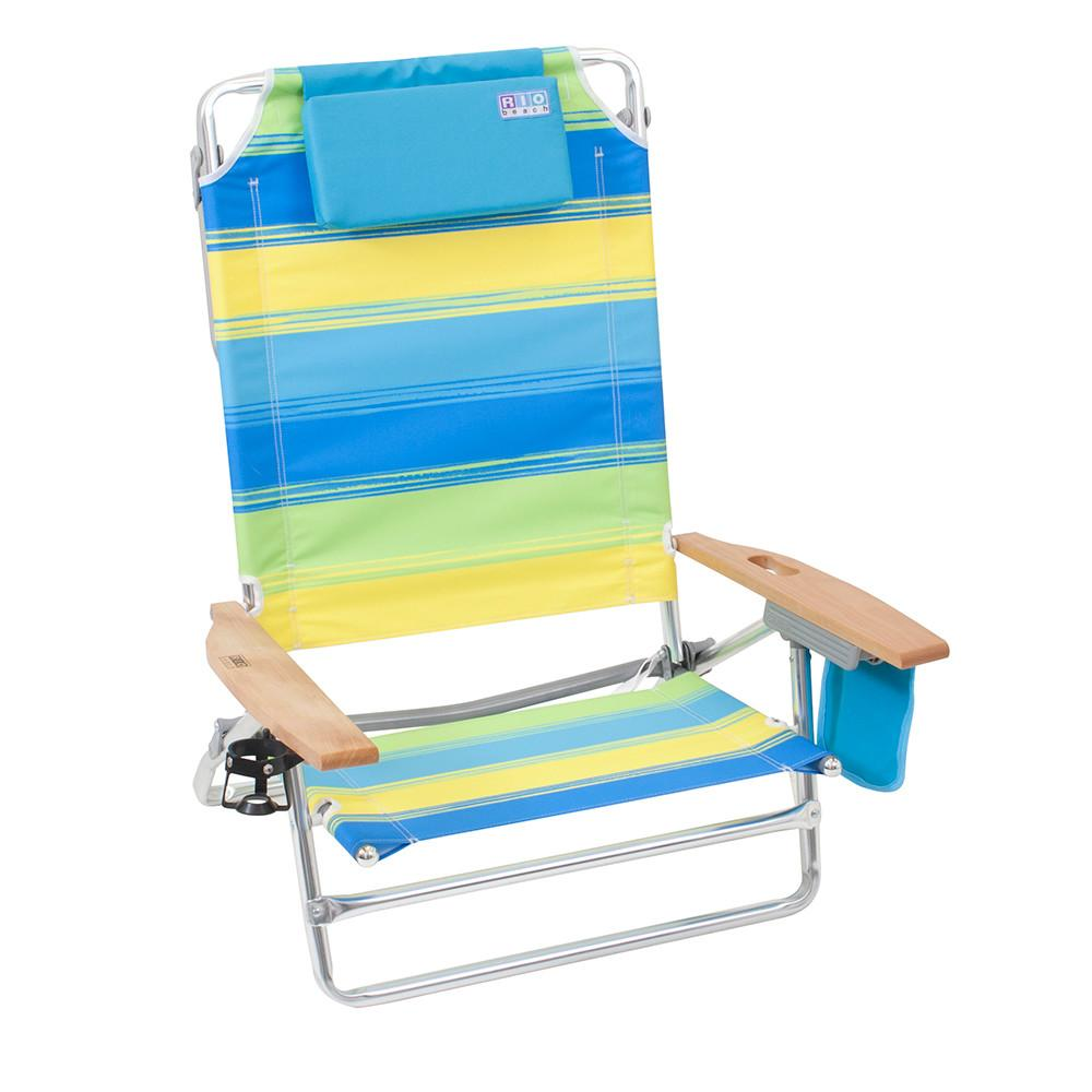 Rio Big Kahuna Beach Chair Surf Stripe Large Chairs