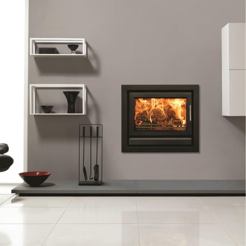 Riva Cassette Inset Contemporary Woodburning Stove