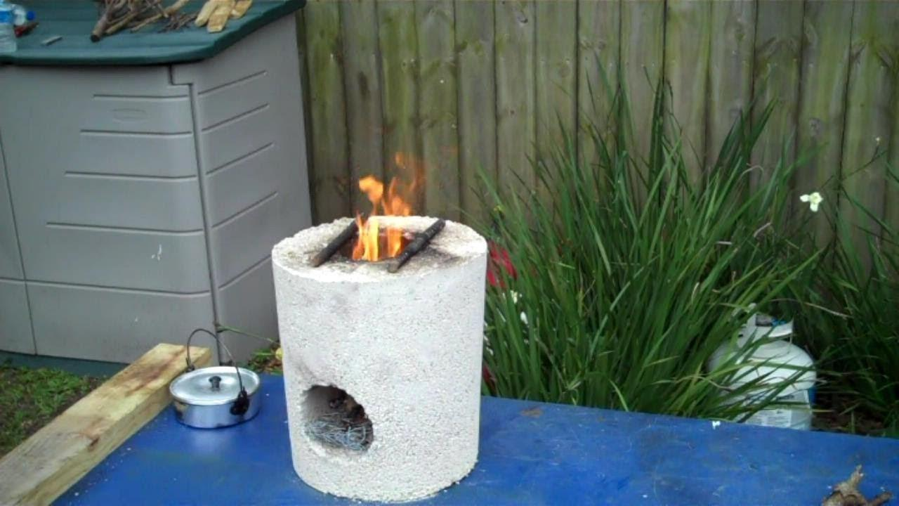 Rocket Stove Test Boiling Water Doovi