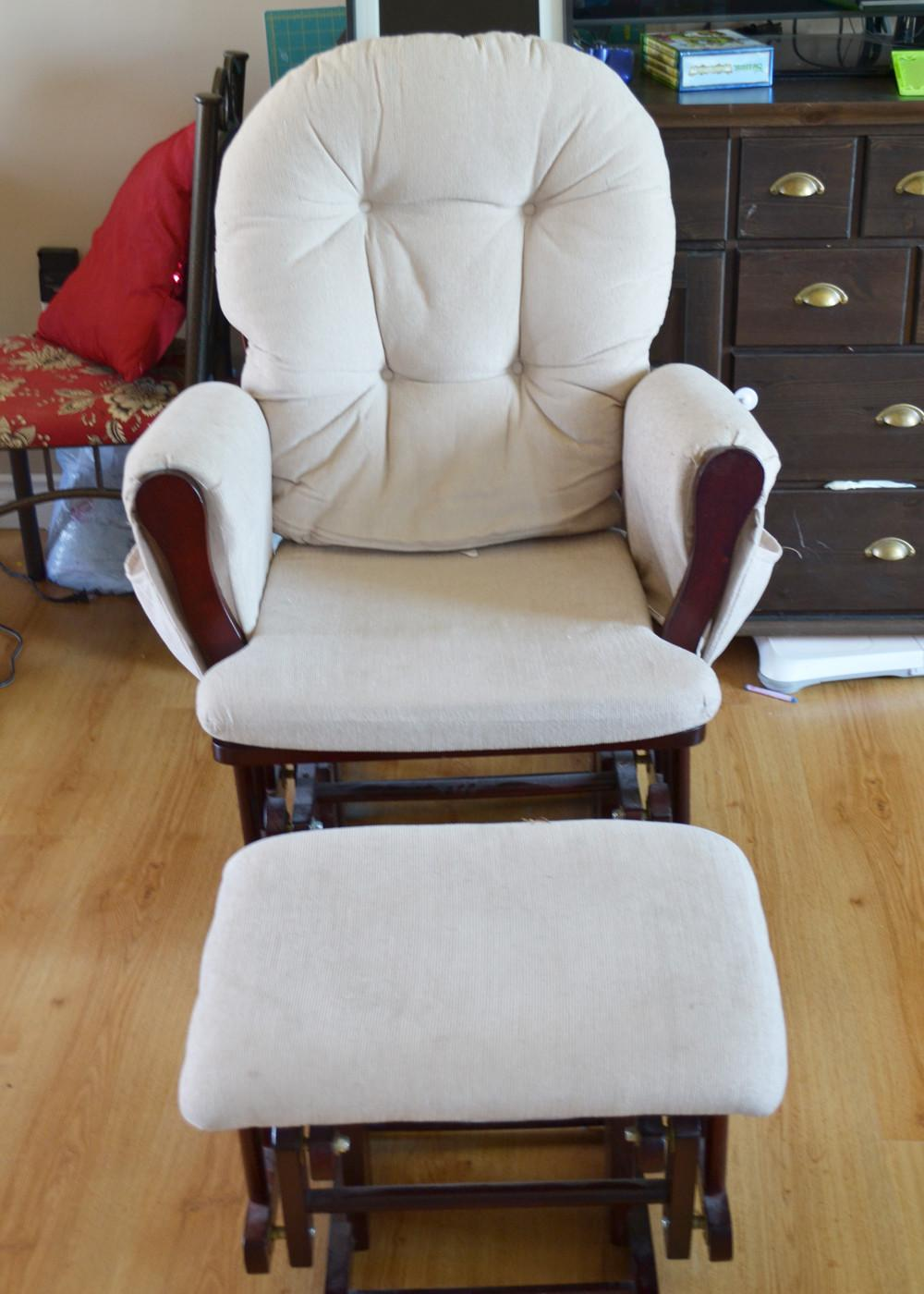 Rocking Chair Ottoman Cover Chairs Seating