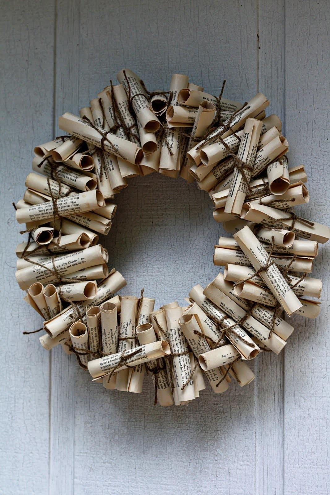 Rolled Paper Wreath Wreaths Book
