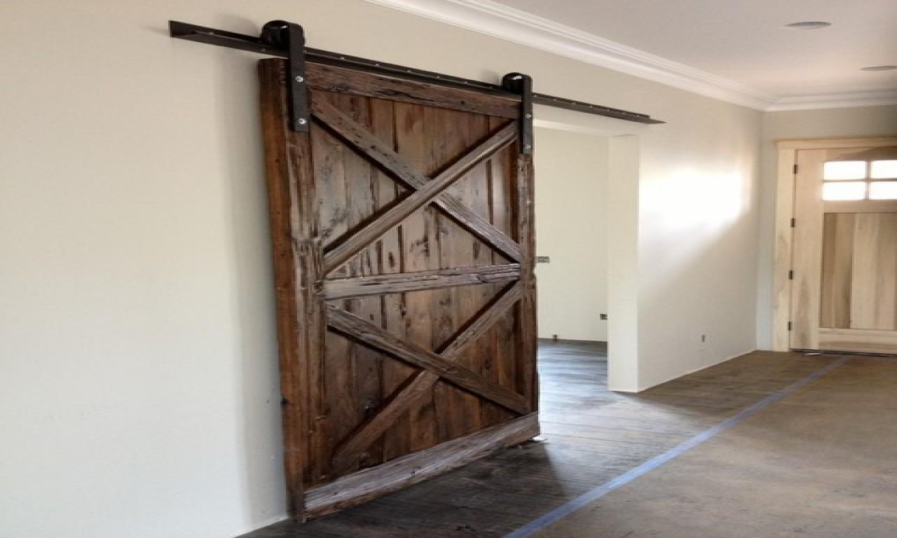 Roller Barn Door Wood Sliding Doors Interior