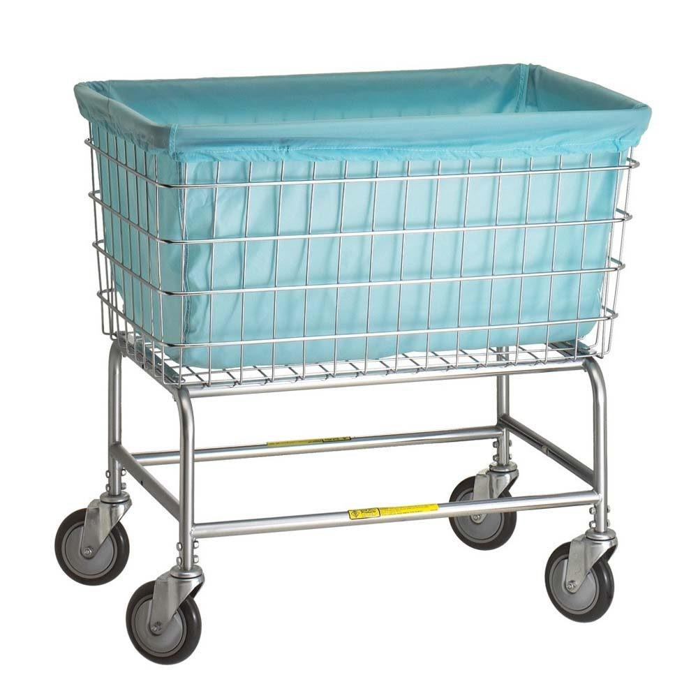 Rolling Laundry Cart Vintage Cool Wire