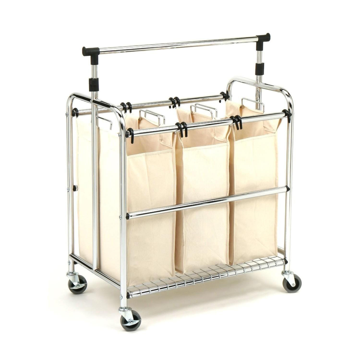 Rolling Laundry Carts Cart Home Design