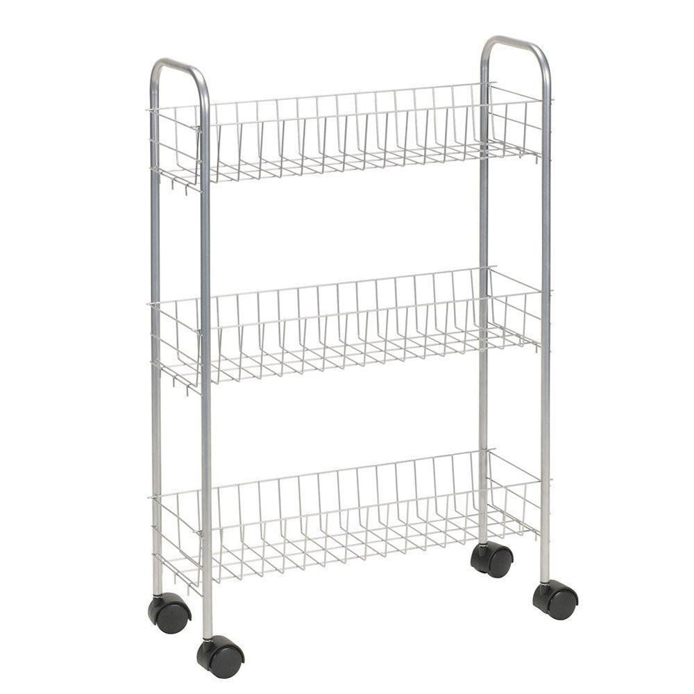 Rolling Laundry Room Storage Cart Carts