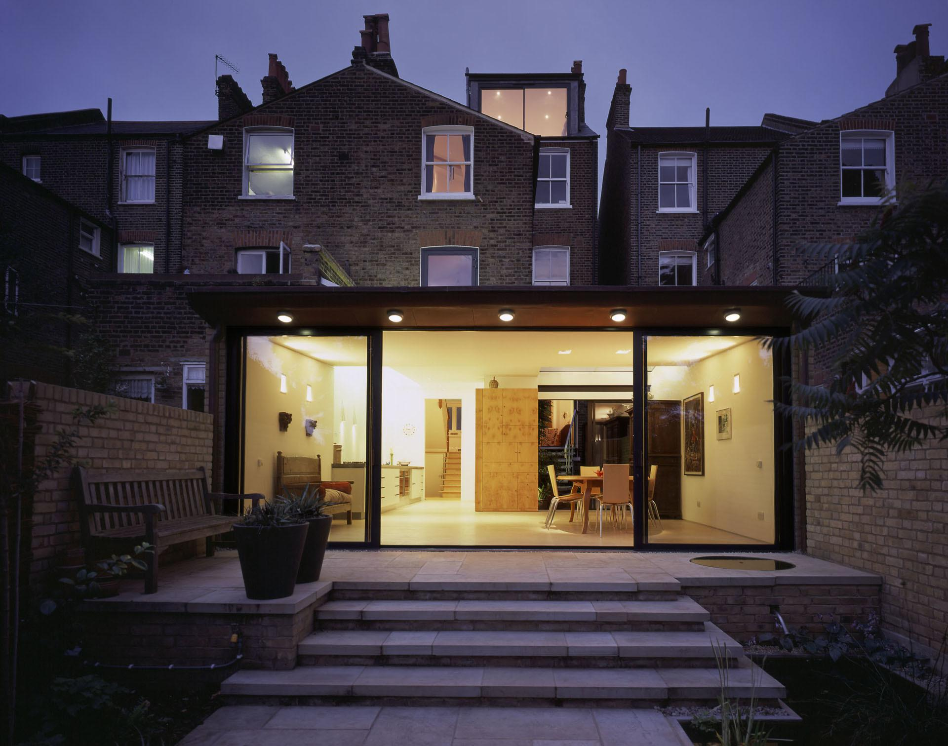 Rollscourt Avenue Rear Extension Ambo Architects