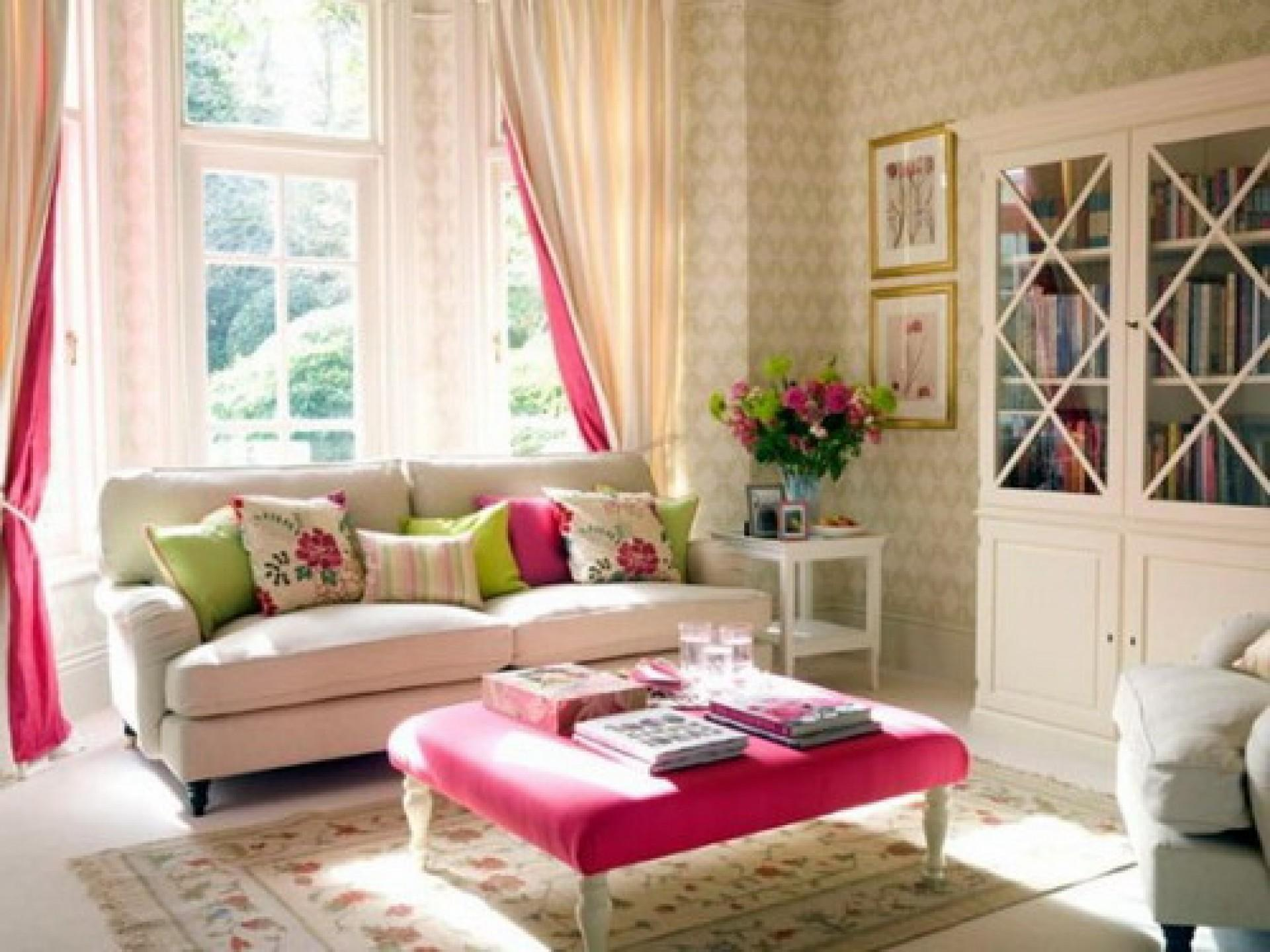 Romantic Living Room Ideas Feminine Young Ladies Casa