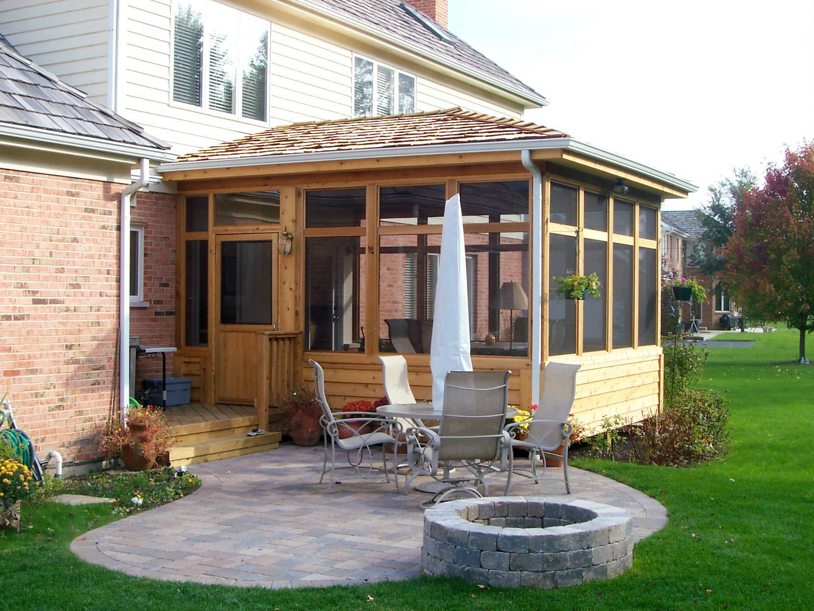 Roof Style Should Your New Chicagoland Porch