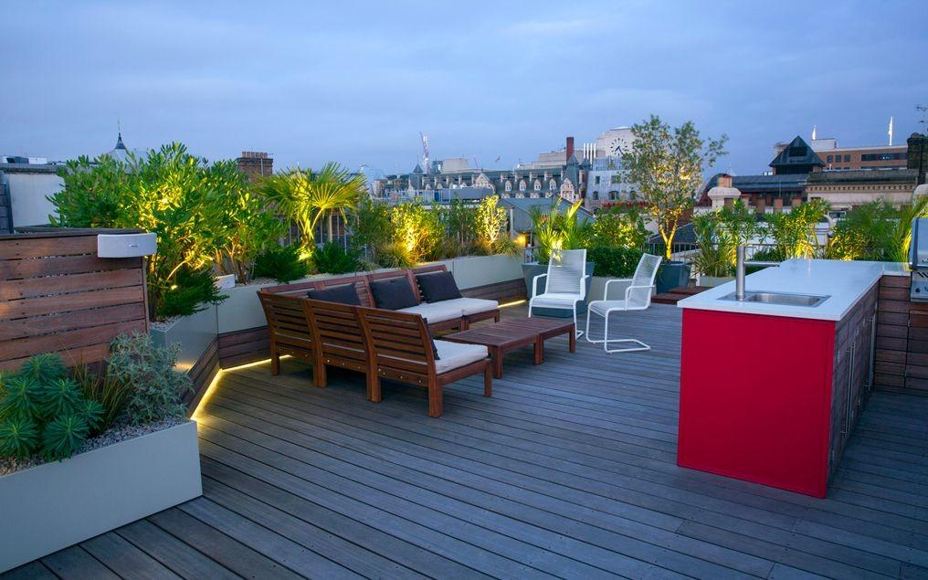 Roof Terrace Lifestyle Rooftop Living Design Style